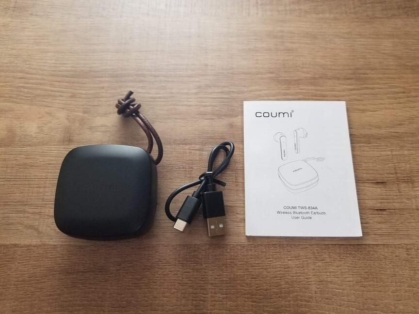 COUMI TWS-834Aの付属品