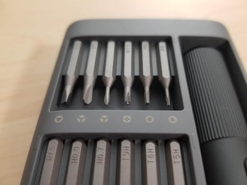 Xiaomi Mijia電動精密ドライバービット