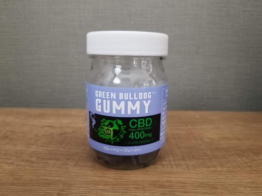 GREEN BULLDOG(グリーンブルドッグ)のCBDグミ ブルーベリー