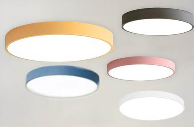LEDシーリングライトのマカロン