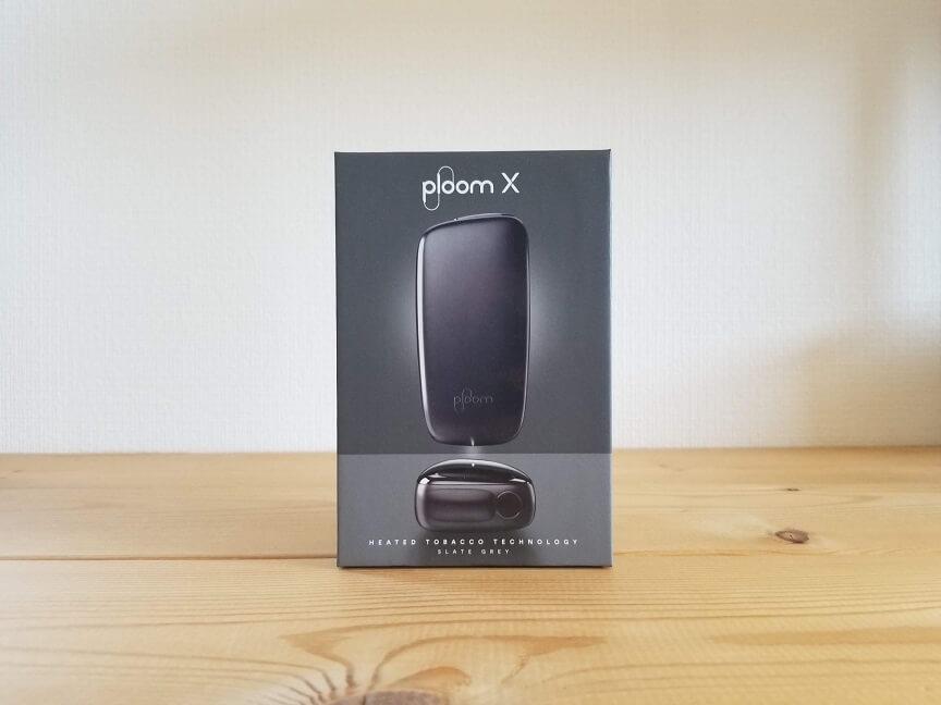 Ploom X(プルームエックス)のパッケージ