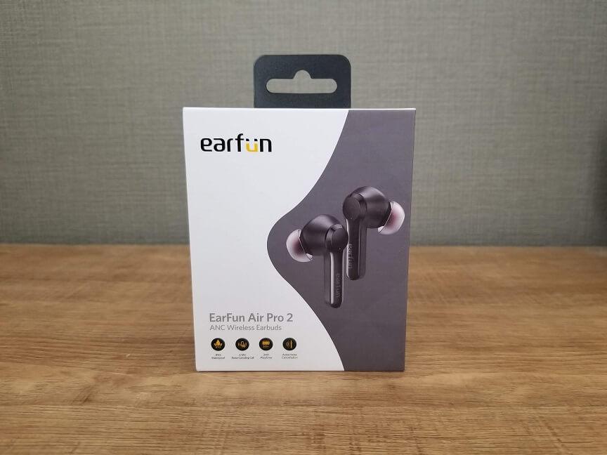 EarFun Air Pro 2のパッケージ