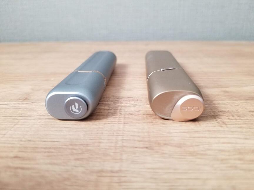PASUS V6S Mk-2とIQOS3マルチの比較