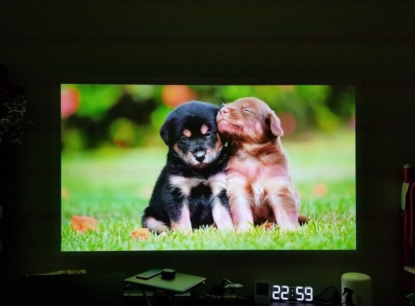 XGIMI HORIZON Proの映像