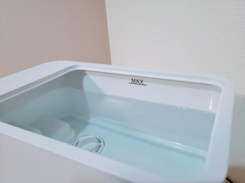 Luwior除菌加湿器の給水
