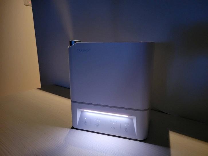 Luwior除菌加湿器のナイトライト