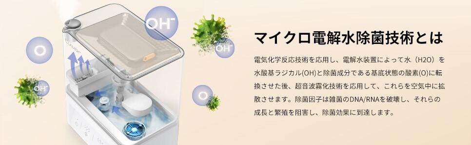 電解水除菌技術
